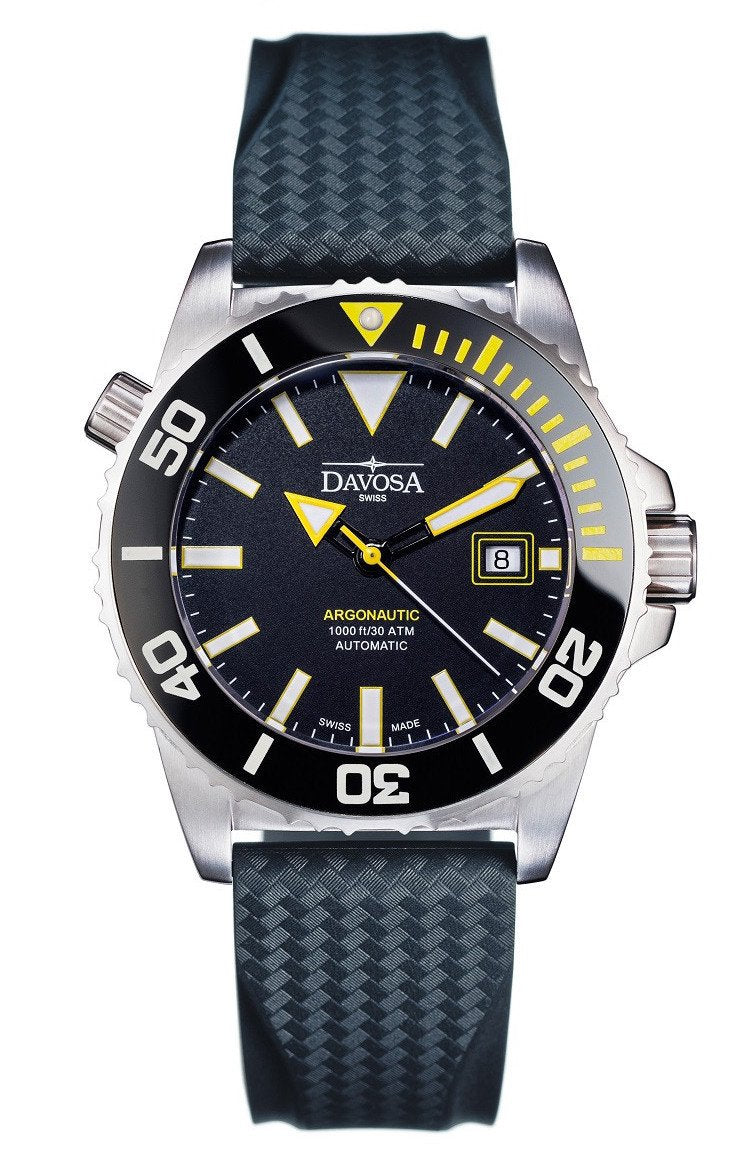 "Argonautic 300m Diver Black/Yellow 42mm Automatic 16149875 ""Bumble Bee"""