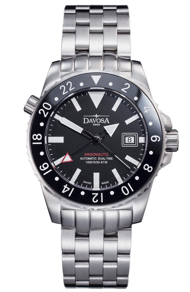 Argonautic 300m Diver Black 42mm Automatic GMT 16151220