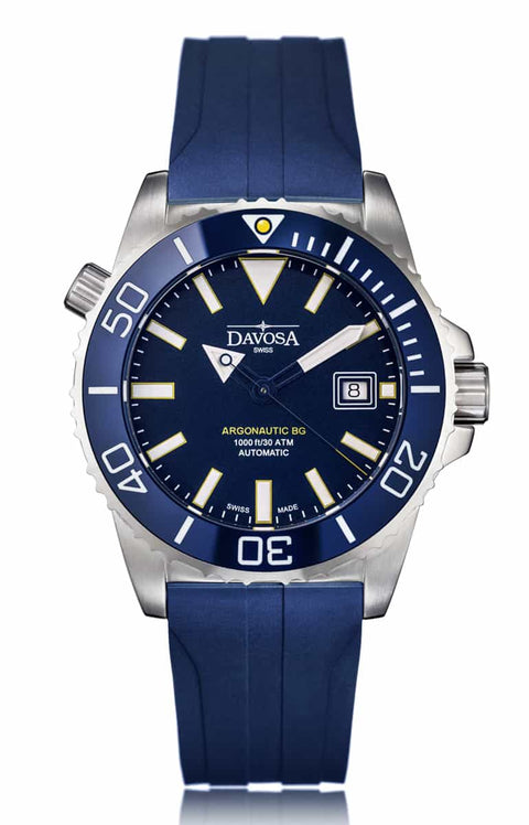 ARGONAUTIC BG AUTOMATIC Blue with Rubber Band 300M 16152249 - *OUTLET*