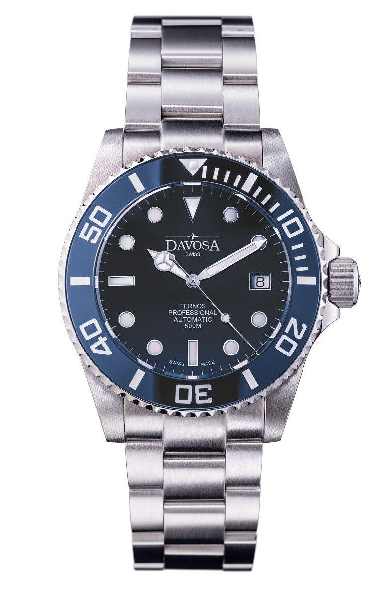 Ternos Professional 500m Diver Automatic 42mm Dark Blue 16155940