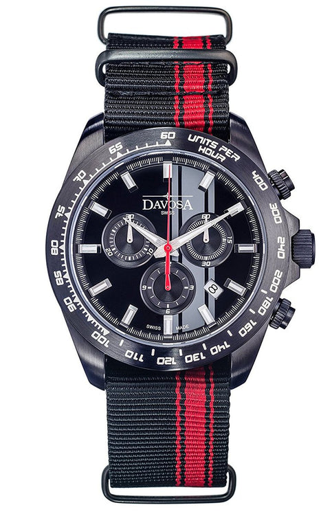 Speedline TX Black PVD 42mm Chrono 10 ATM Quartz 16248855
