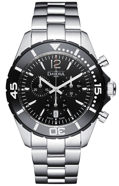 Nautic Star Black Chrono 10 ATM Quartz 16347315
