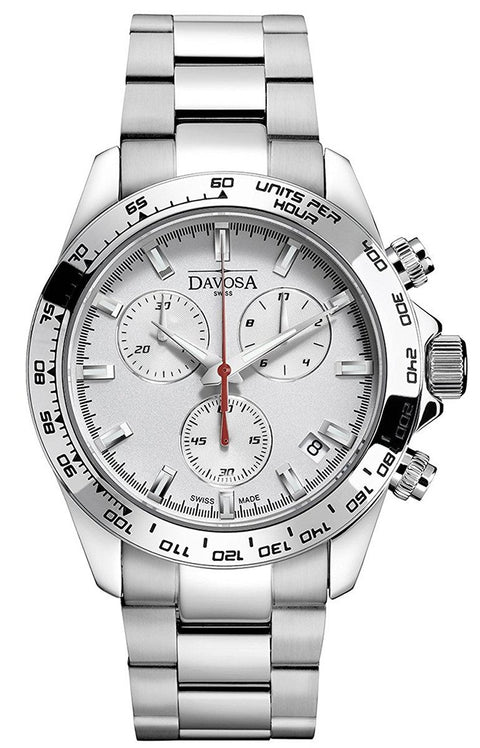 Speedline White 42mm Chrono 10 ATM Quartz 16347015