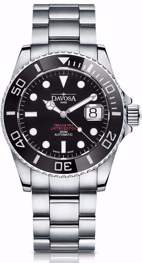 Ternos Pro USA 300m Diver Automatic 42mm Double Red 16155951