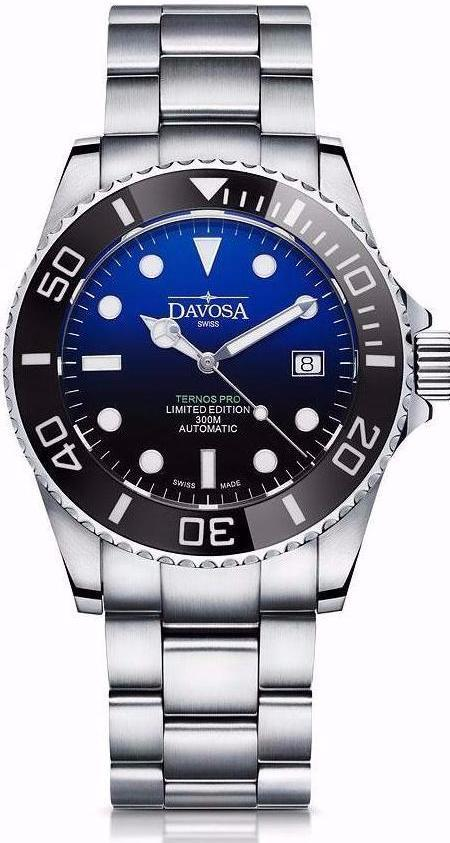 Ternos Pro USA 300m Diver Automatic 42mm Faded Blue 16155952