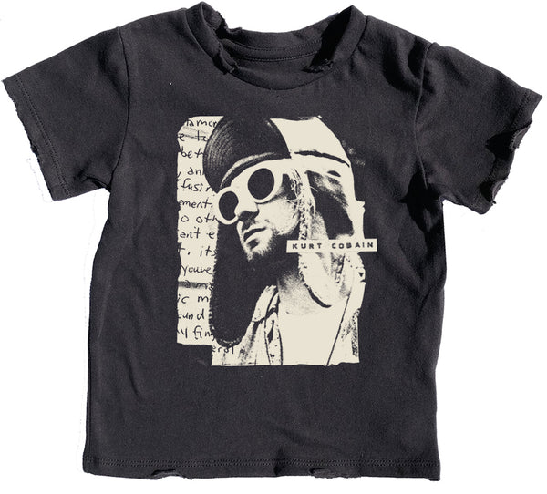 KURT COBAIN DISTRESSED TEE