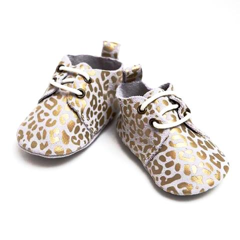 GOLD LEOPARD - SOFT SOLE