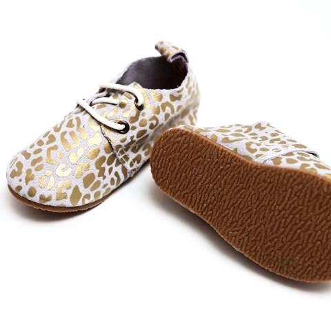 GOLD LEOPARD - HARD SOLE