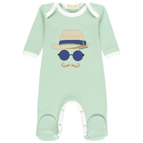 ONESIE WITH FEDORA