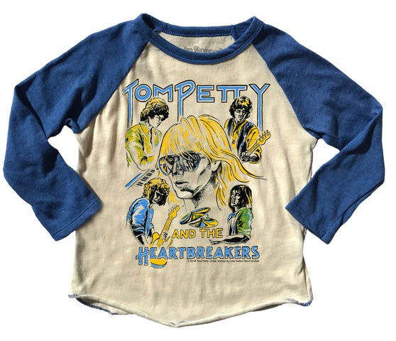 TOM PETTY PREMIUM RAGLAN TEE