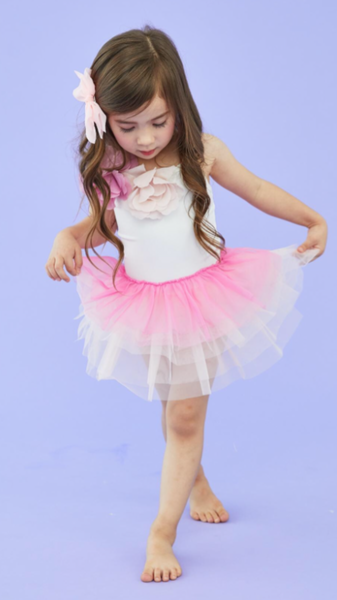 SIENNA FLOWER TUTU DRESS