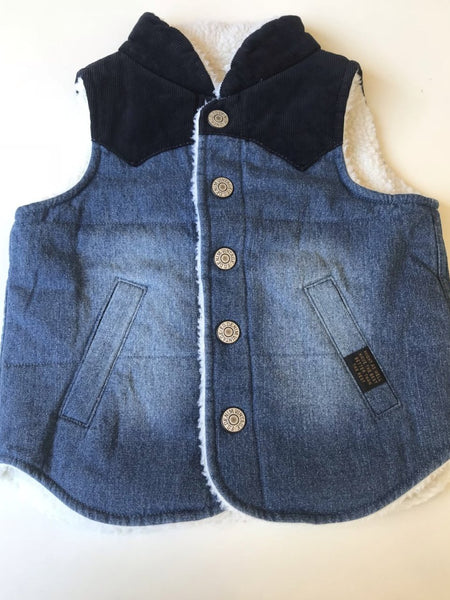 LUKE DENIM VEST