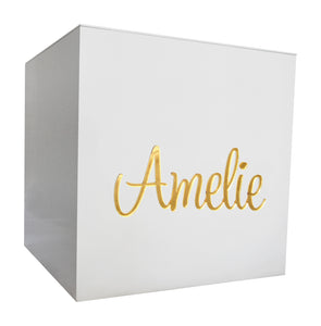Gold Mirror Personalised Mini Box