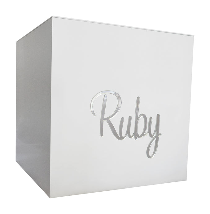 Silver Mirror Personalised Gift Box