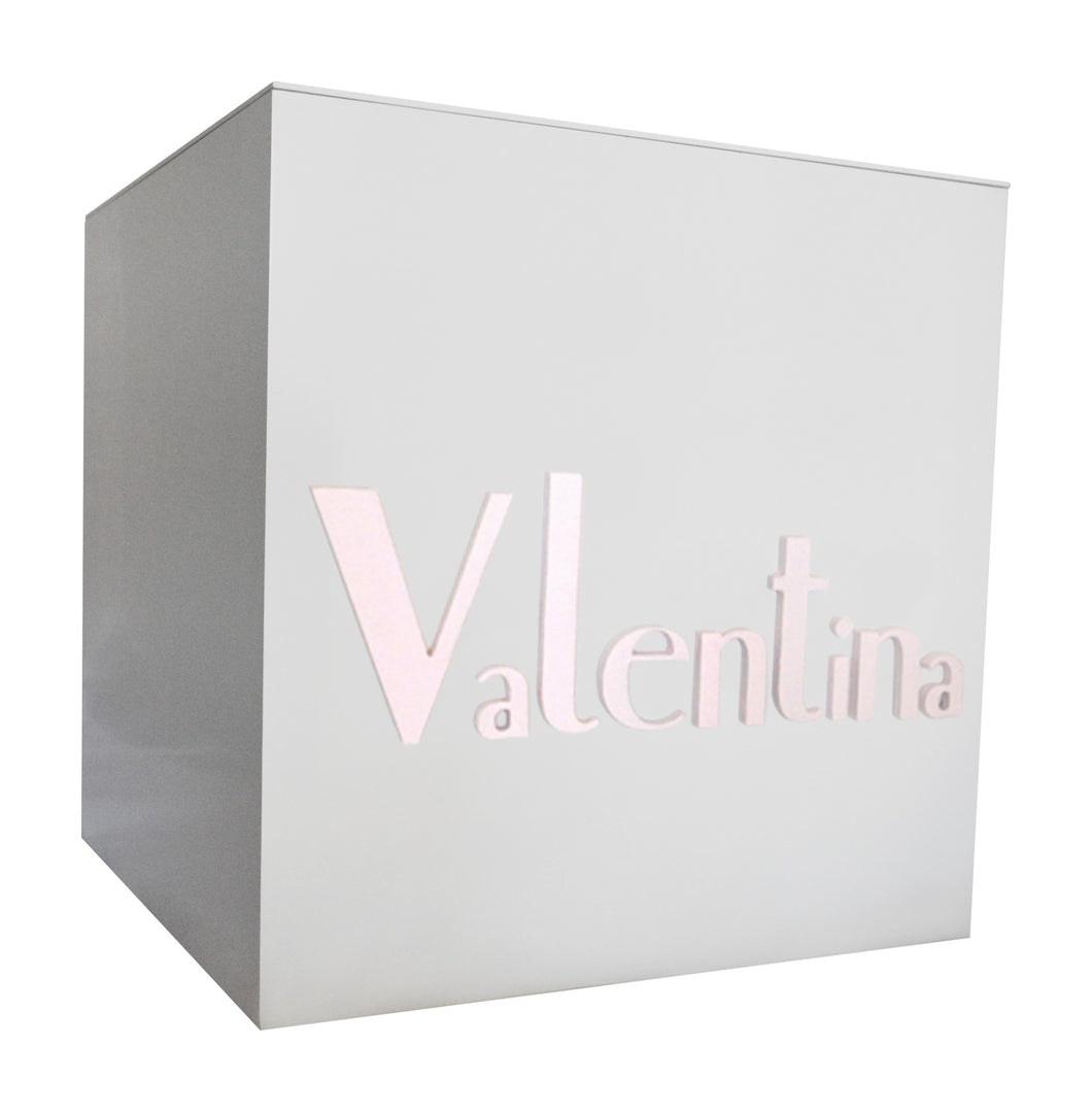 Fairy Floss Pastel Pink Personalised Toy Box