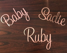 Rose Gold Mirror Personalised Toy Box
