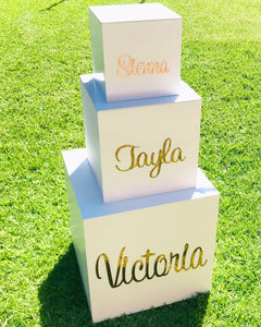 Personalised Floor Box