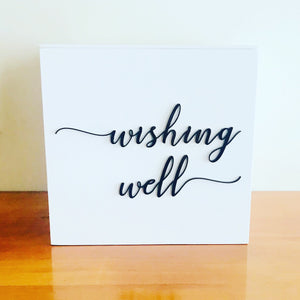 New Design 25cm Wishing Well Box