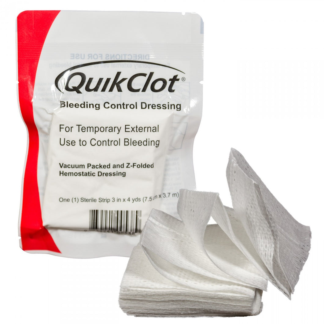 Quick Clot Bleeding Control