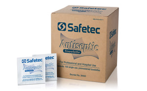 SafeTec Antiseptic Wipe (BZK Wipe Replacement)