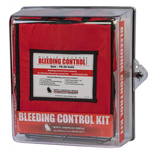 PUBLIC ACCESS BLEEDING CONTROL STATIONS - 8-PACK NYLON