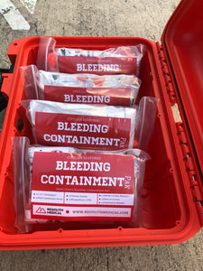 Individual Bleeding Control Kit- Resealable 6mm pouch