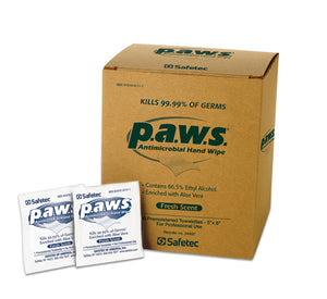 SafeTec P.A.W.S Antiseptic Hand Wipes