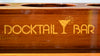 Docktail® Butler Elite Teak Table for Rocket Launchers, Leaning Posts and Rod Holders