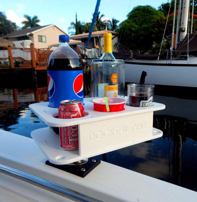 Docktail® Jr Boat Cup Holder Caddy
