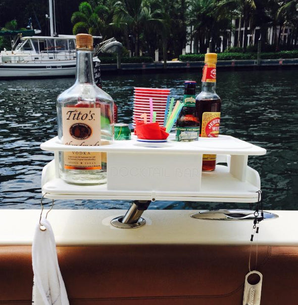 Premium Boat Bar plus Bait Table Combo