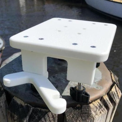 Universal Pontoon Square Rail Mount