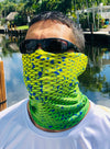 UV Fishing Face Mask Bandanas - 3 Pack of Face Shields