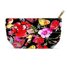 1artTo25 zip-top Cosmetic bag || Paradise Garden at night ||