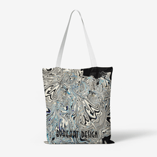Heavy Duty and Strong Natural Canvas Tote Bags || BLACK SNAKE ||