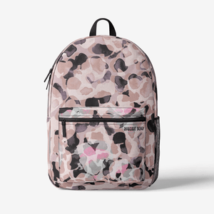Retro Colorful Print Trendy Backpack || PARADISE ISLAND ||
