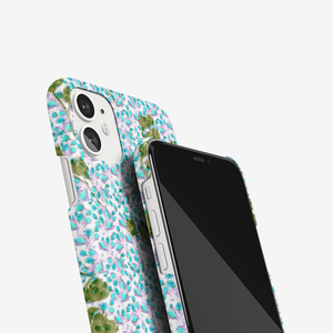 iPhone 11 case || ROSES IN BLUE ||