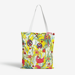 Heavy Duty and Strong Natural Canvas Tote Bags || GOLESTAN PERSIAN GARDEN ||