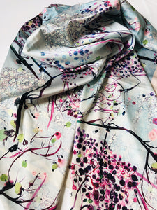 SHADOWS OF PARADISE  | SCARF & TEXTILE  |