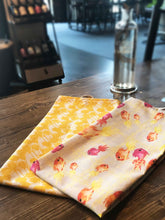 YELLOW ROSES | Organic Dish towel |