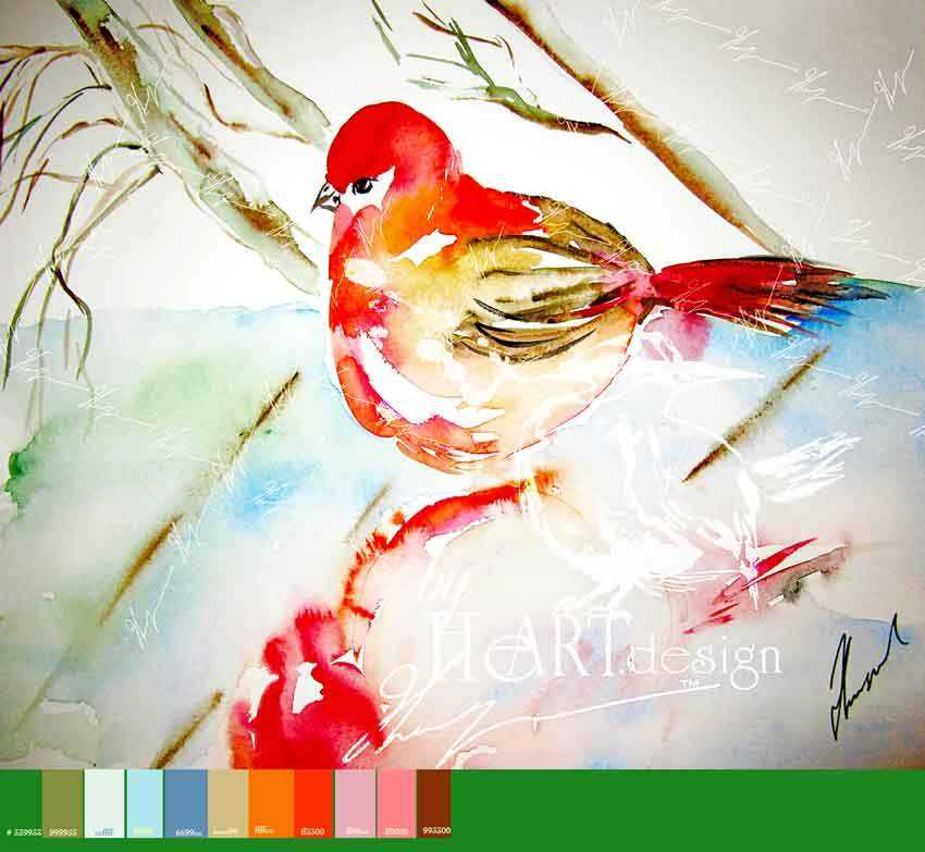 ART BIRD, JUST RELAX | Byheart Design's Pattern Studio