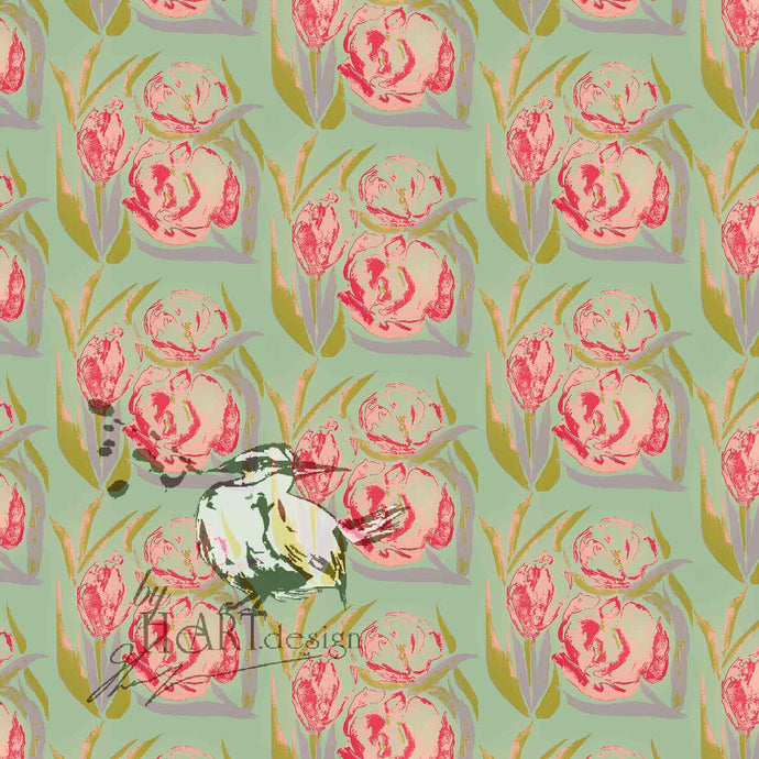 FLORAL DESIGN, THE TULIP FEVERS IN SET | Byheart Design's Pattern Studio