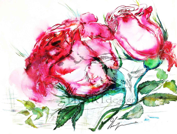 FLORAL ART, THE ROSE