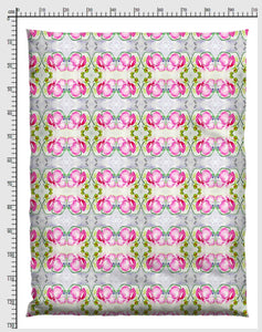 FLORAL ART ORCIDE THE PINK FLOW | Byheart Design's Pattern Studio