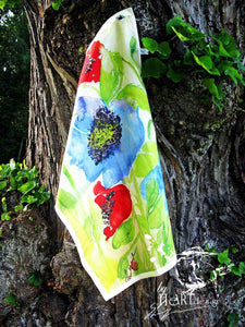 A FLOWER OF OCEAN | Organic Dish Towel |