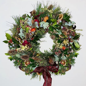 Our pick of this year's best natural Christmas wreaths