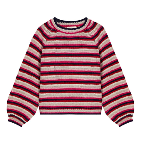 Balloon Sleeve Lambswool Jumper