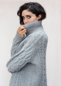 THE IGGY LAMBSWOOL CABLE JUMPER
