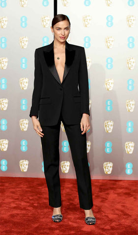 Irina Shayk at the Baftas 2019