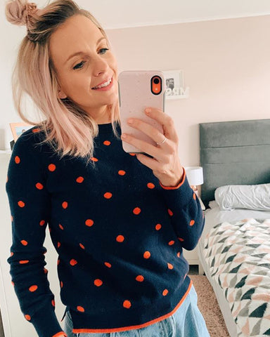 The polka dot jumper