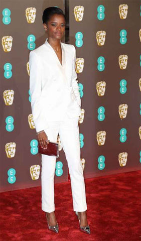 Letitia Wright at the Baftas 2019